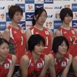 昨年も全日本に選ばれた山口選手(前列右)