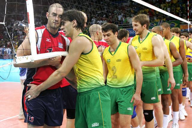男子 ブラジル バレー