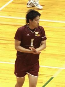 福岡大学キャプテン久木原慧至選手(3年)