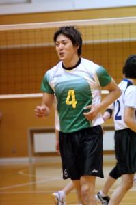 地元函館でおこなわれた国体北海道予選。決勝で敗れ本大会出場はならず