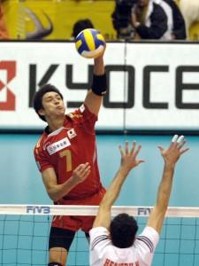 ベストエイトを決めたチュニジア戦。/Photo courtesy of FIVB