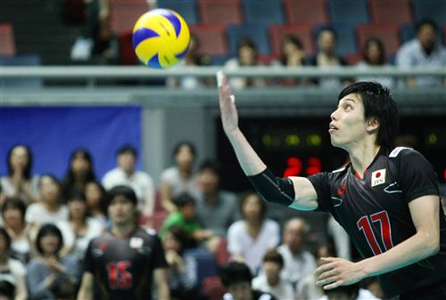 Photo courtesy of FIVB/ワールドリーグ2013大阪大会にて