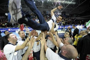 昨シーズンの欧州覇者となったワクフバンクの監督・ジョバンニ