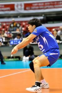 米山裕太(東レアローズ) 小柄ながらも高い守備力などで全日本でも活躍