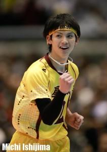 川口太一(豊田合成) 星城高校6冠を守備で支えたリベロ。インタビュー記事はこちら