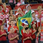 王者ブラジル、開催国ポーランドにフルセットで敗れる