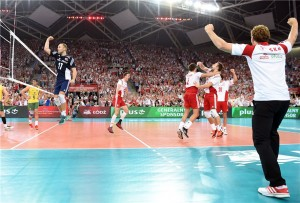 ブラジル、開催国ポーランドにフルセットで敗れる