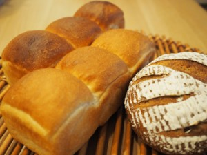 お土産にいただいた手作りのパン