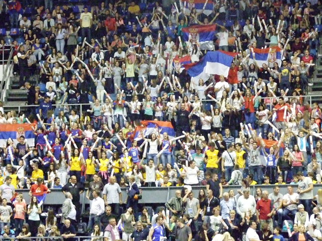 ベオグラードの観客たち