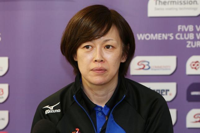 プレミア初の女性監督として活躍する中田久美さん