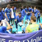 イタリア黄金時代のエース、アンドレア・ジャーニ監督とスロベニア選手たち