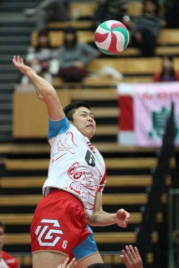 攻撃面で存在感を示した豊田合成近選手