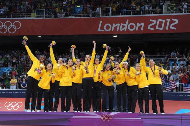 栄冠を手にしたブラジルチーム