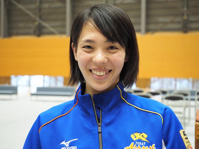 入社から11年間、東レを支え続けた迫田さおり選手