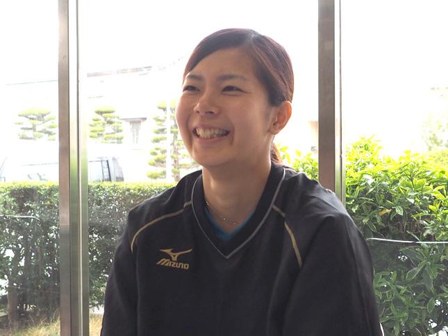 佐藤美弥(日立)「中田監督からいろいろなお話を聞き、これまで