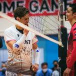 ジェイテクト/西田有志 選手&サントリー/藤中謙也 選手