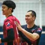 サントリーサンバーズ/柳田将洋 選手&鶴田大樹 選手