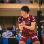 VC長野トライデンツ/森﨑 健史 選手