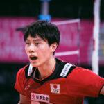 髙橋 藍 選手